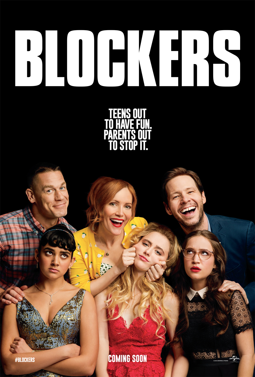 Image result for Blockers movie poster
