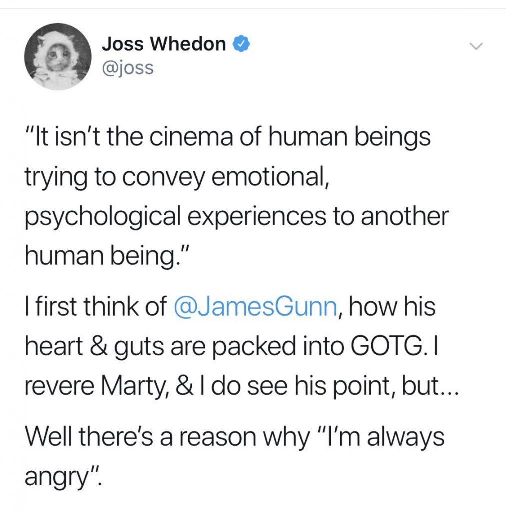 Samuel L. Jackson e James Gunn respondem criticas de Scorsese