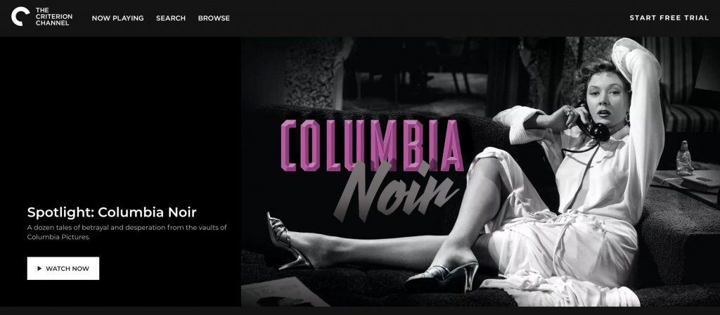 columbia noir